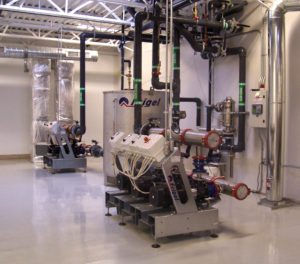 Polymer uses Frigel Ecodry central cooling system that ensures optimal efficiency critical for pre-clinical validations & device production.