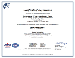 Polymer Conversions - ISO 9001